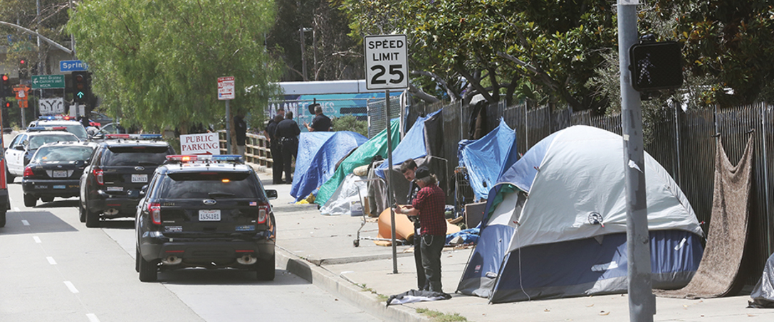 City decides to criminalize the homeless...